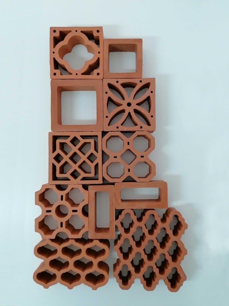 conjunto de celosias ceramicas 2