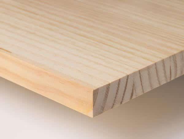 tablero de madera maciza